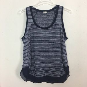 **FINAL PRICE** CLEARANCE Eyeshadow knit tank top
